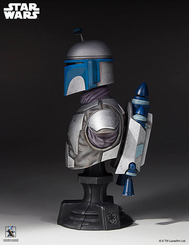 [Gentle Giant] 1/6 Bust - Star Wars II - Jango Fett Jango-Fett-Mini-Bust-Star-Wars-Gentle-Giant-pre-03