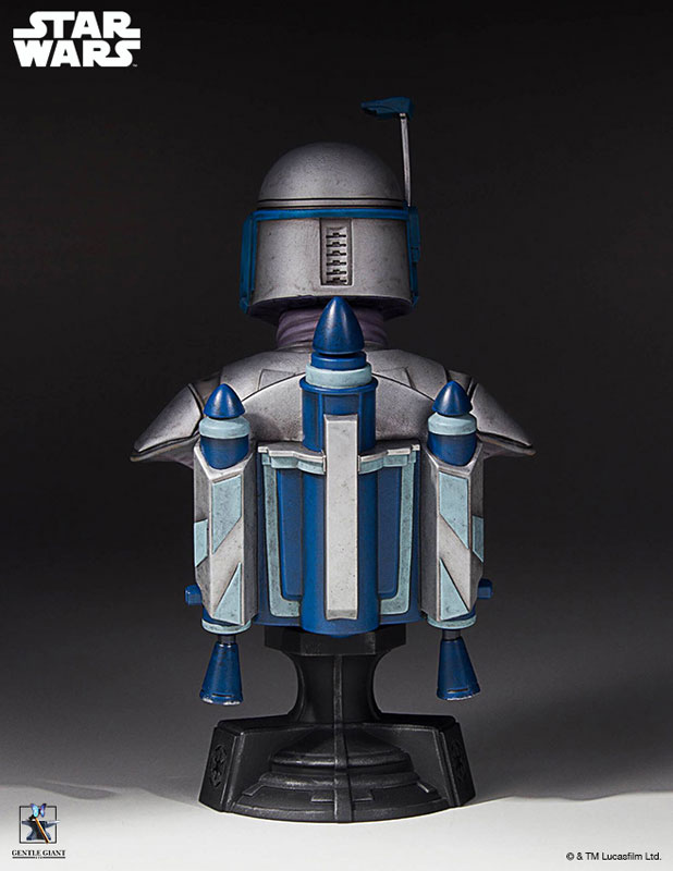 [Gentle Giant] 1/6 Bust - Star Wars II - Jango Fett Jango-Fett-Mini-Bust-Star-Wars-Gentle-Giant-pre-05