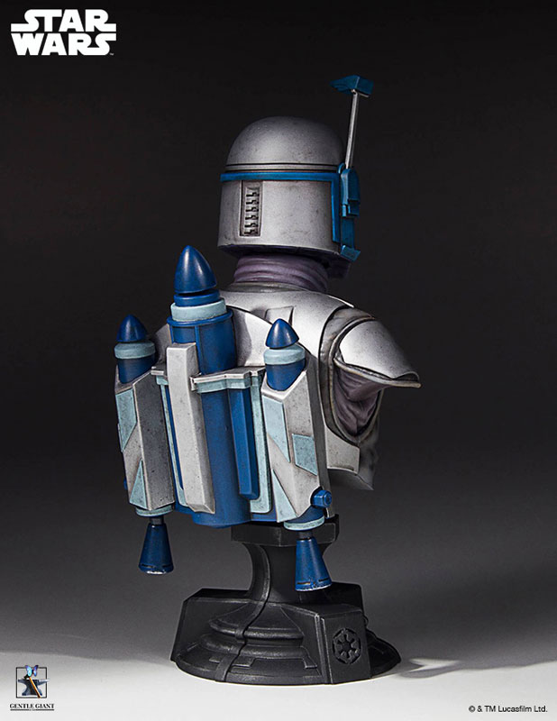 [Gentle Giant] 1/6 Bust - Star Wars II - Jango Fett Jango-Fett-Mini-Bust-Star-Wars-Gentle-Giant-pre-06