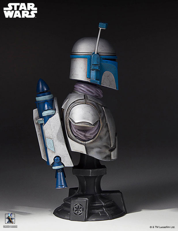 [Gentle Giant] 1/6 Bust - Star Wars II - Jango Fett Jango-Fett-Mini-Bust-Star-Wars-Gentle-Giant-pre-07