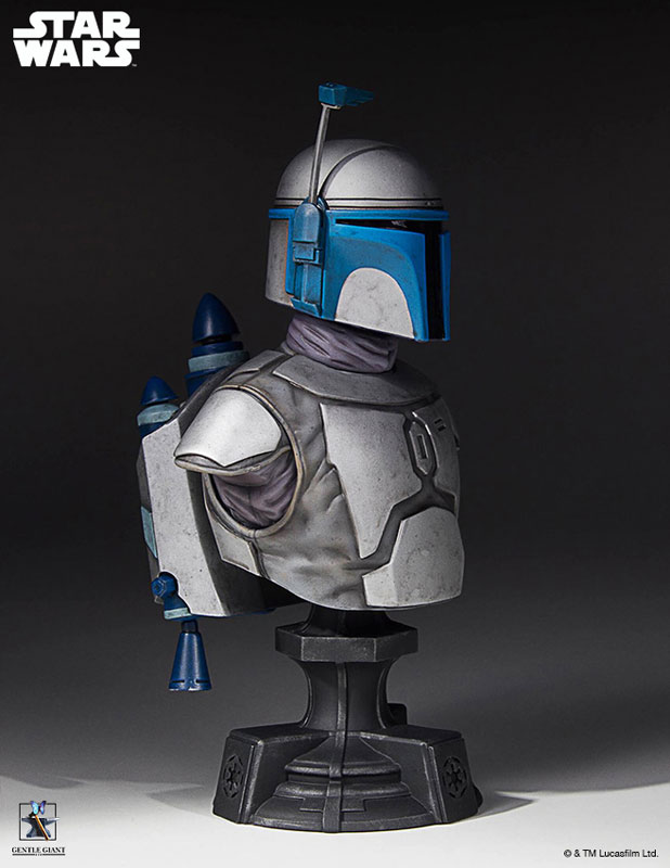 [Gentle Giant] 1/6 Bust - Star Wars II - Jango Fett Jango-Fett-Mini-Bust-Star-Wars-Gentle-Giant-pre-08
