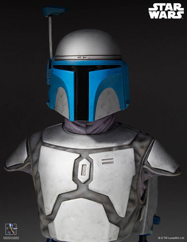 [Gentle Giant] 1/6 Bust - Star Wars II - Jango Fett Jango-Fett-Mini-Bust-Star-Wars-Gentle-Giant-pre-09