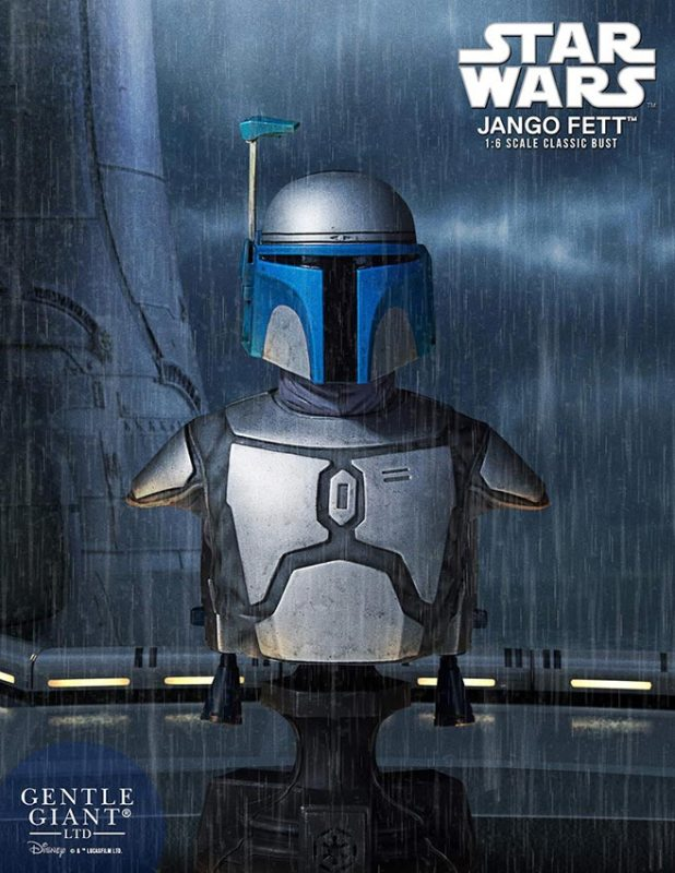 [Gentle Giant] 1/6 Bust - Star Wars II - Jango Fett Jango-Fett-Mini-Bust-Star-Wars-Gentle-Giant-pre-13