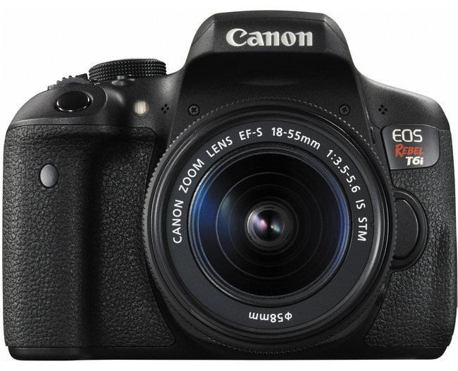 Fotocamere entry level: Canon Rebel T6i