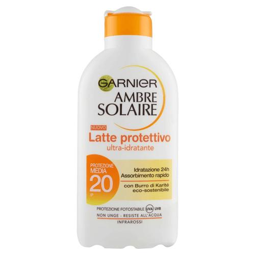Migliori creme solari: Garnier Ambre Solaire Ultra-Idratante SPF 20