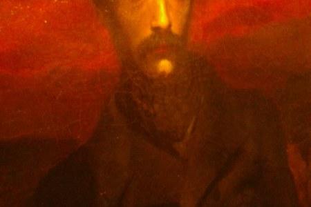 ritratto di Giuseppe Mazzini al museo del Risorgimento di Genova