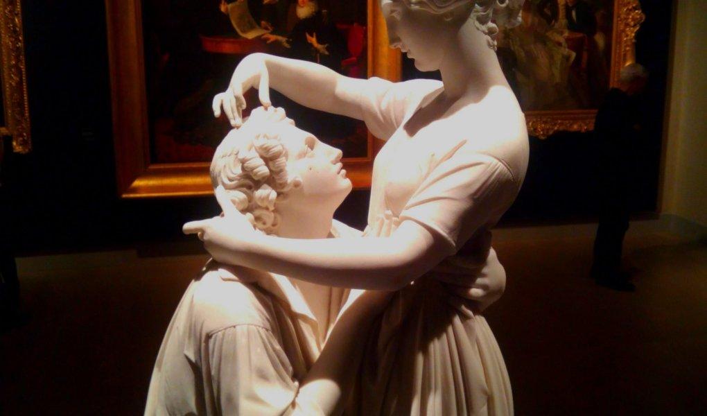 sculture e dipinti alle Gallerie d'Italia di Milano - questa è tratta dalla mostra Romanticismo