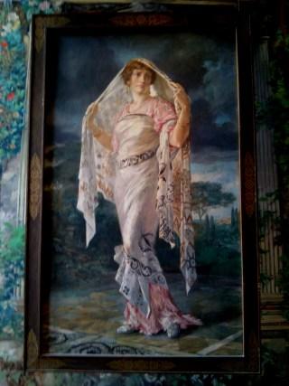 pregiato ritratto di Henriette conservato a Palazzo Fortuny a Venezia
