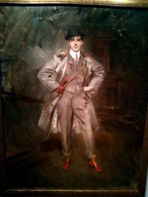 ritratto con moda maschile al tempo di Giovanni Boldini