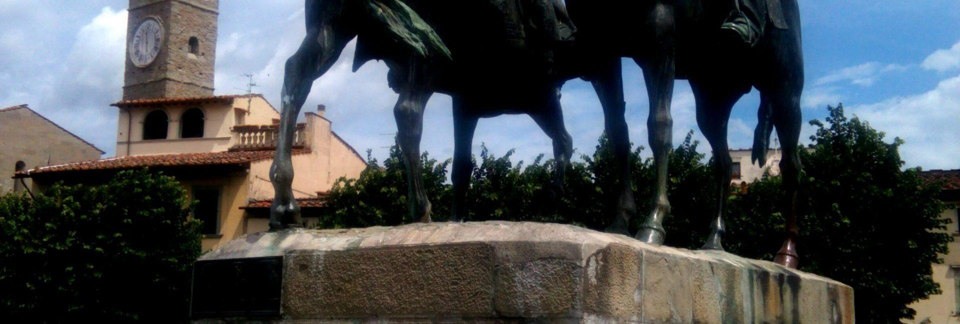 Fiesole - monumento dell'incontro a Teano