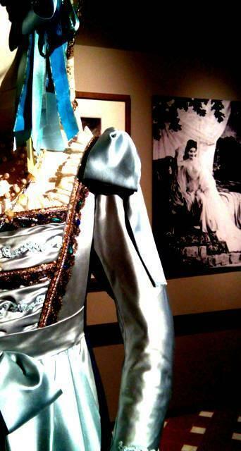 abito per Maria Callas conservato al museo Zeffirelli