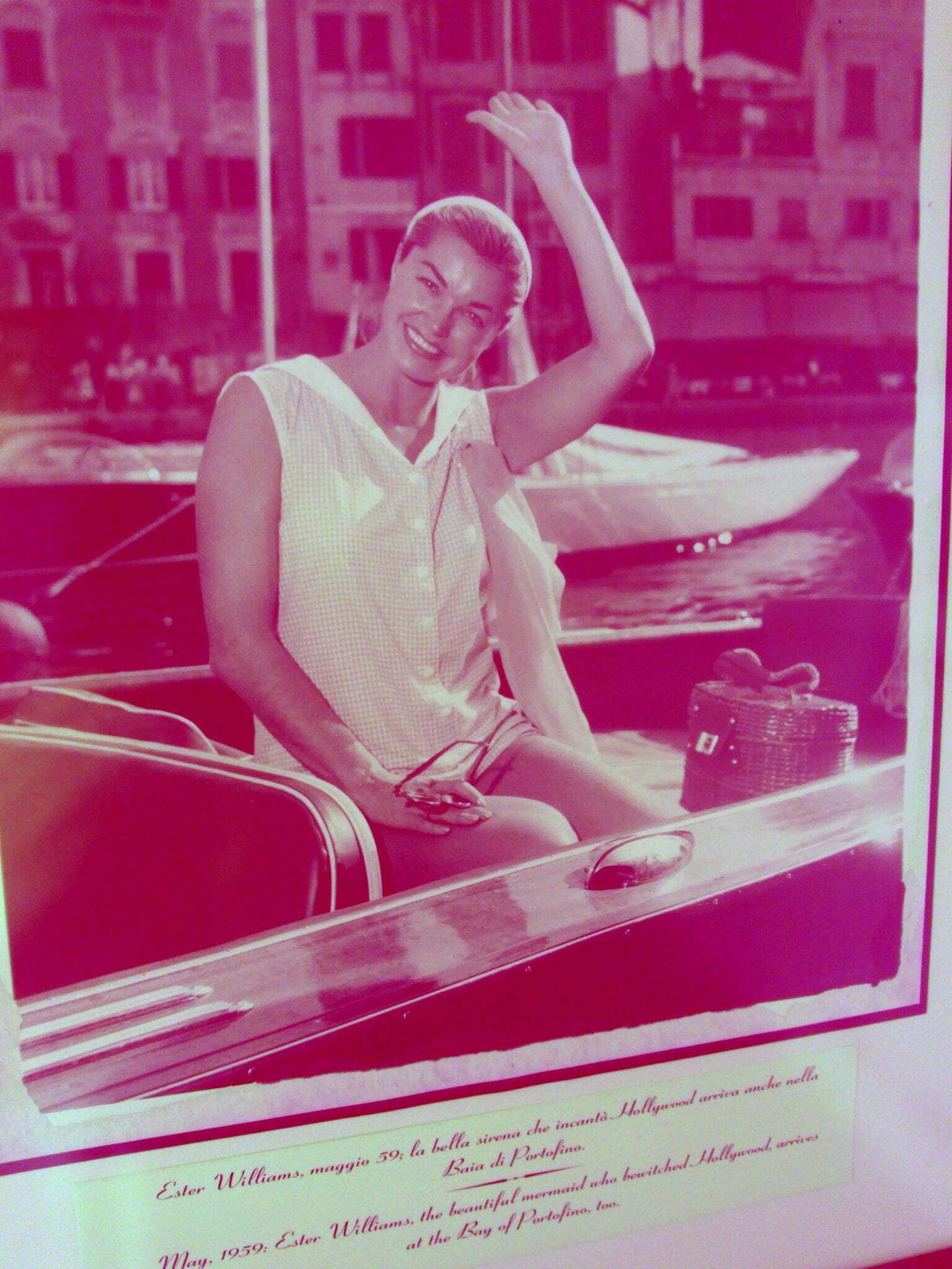Esther Williams a Portofino