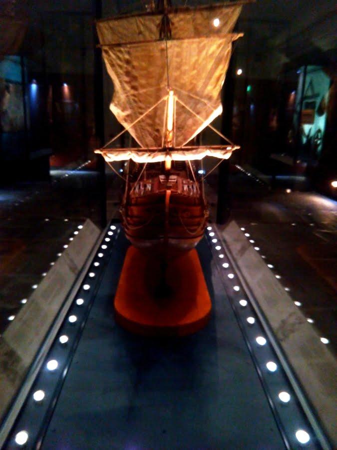 Museo del Mare di Genova - la sezione dedicata a Cristoforo Colombo