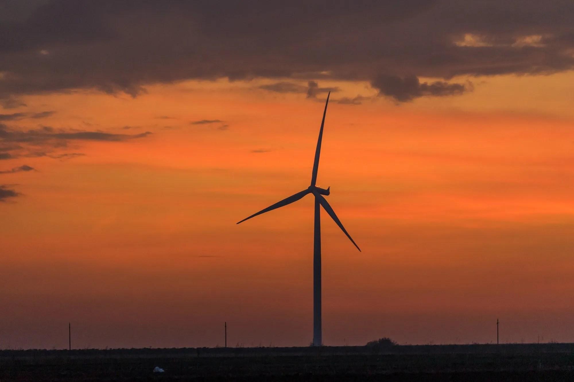 Wind Energy. Industry, Renewable