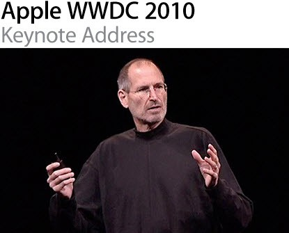 WWDC2010 Video 001 WWDC 2010: Disponibile il video completo del KeyNote di Steve Jobs