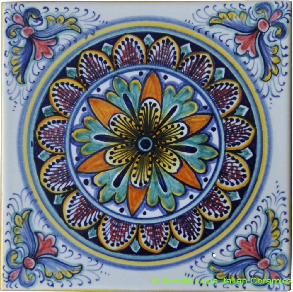 Italian Decorative Ceramic Tiles