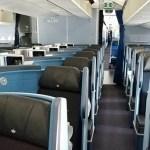 KLMオランダ航空のボーイングB787-9ビジネスクラスの機内設備