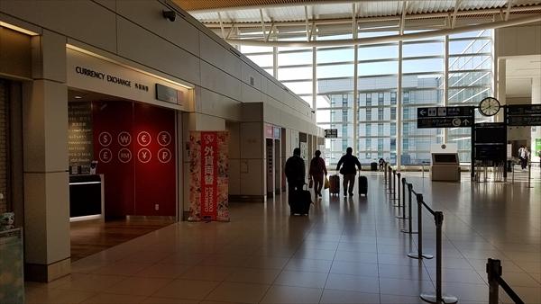 新千歳空港の国際線ターミナル3Fの両替ショップTravelexです