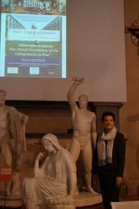 2014 IAS/Kress Lecture, Gipsoteca, San Paolo all'Orto, Pisa; Photo credit: Cathleen Fleck