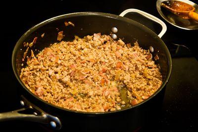 Tortellini Filling In Pan