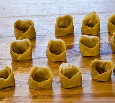 Homemade Tortellini