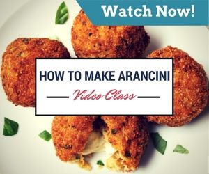 Video Class - How to Make Arancini