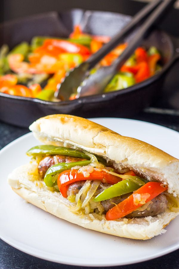 Sausage and Peppers Sandwiches