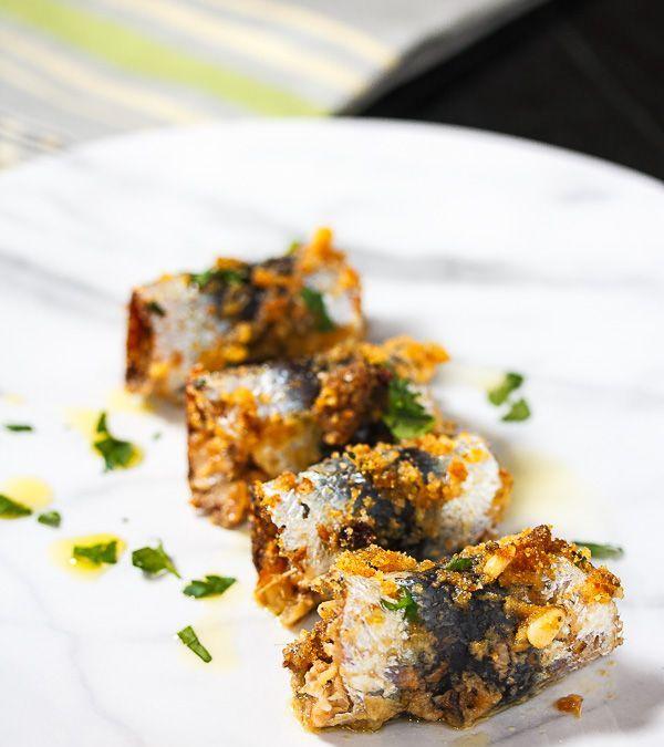 Sarde a Beccafico (Sicilian Stuffed Sardines)