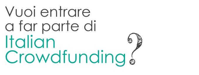 Collabora con ItalianCrowdfunding