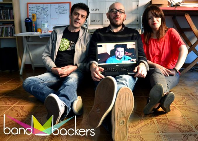 royalty crowdfunding bandbackers