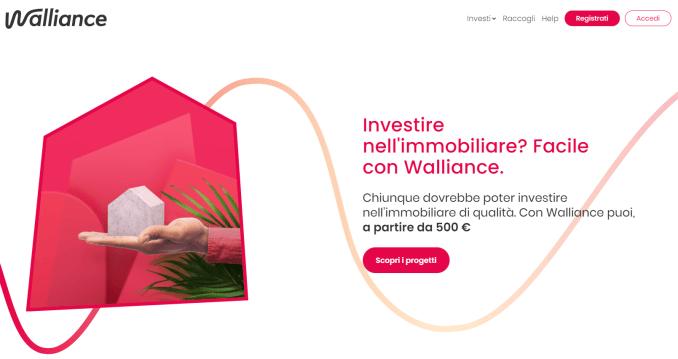 crowdfunding immobiliare walliance
