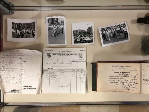 Original Documents and photos of the San Sabino Club