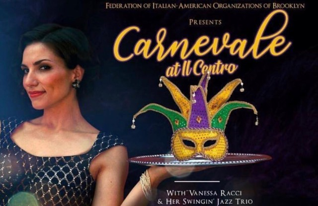 A Look Back To Carnevale At Il Centro With Vanessa Racci And Her Swingin' Jazz Trio