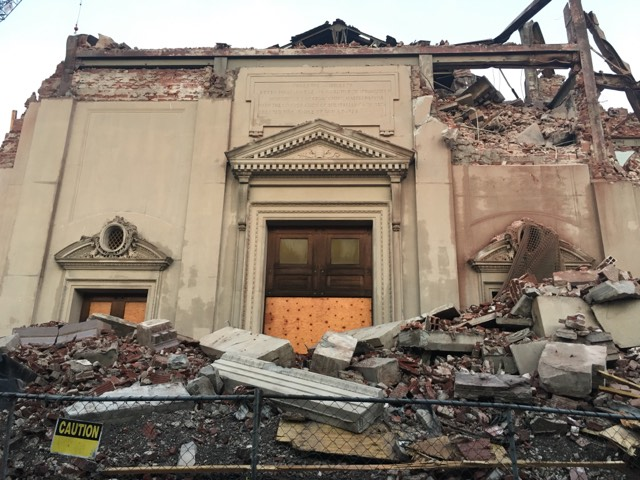 Worcester Church Sees Wrecking Ball: Our Lady of Mount Carmel Is No More