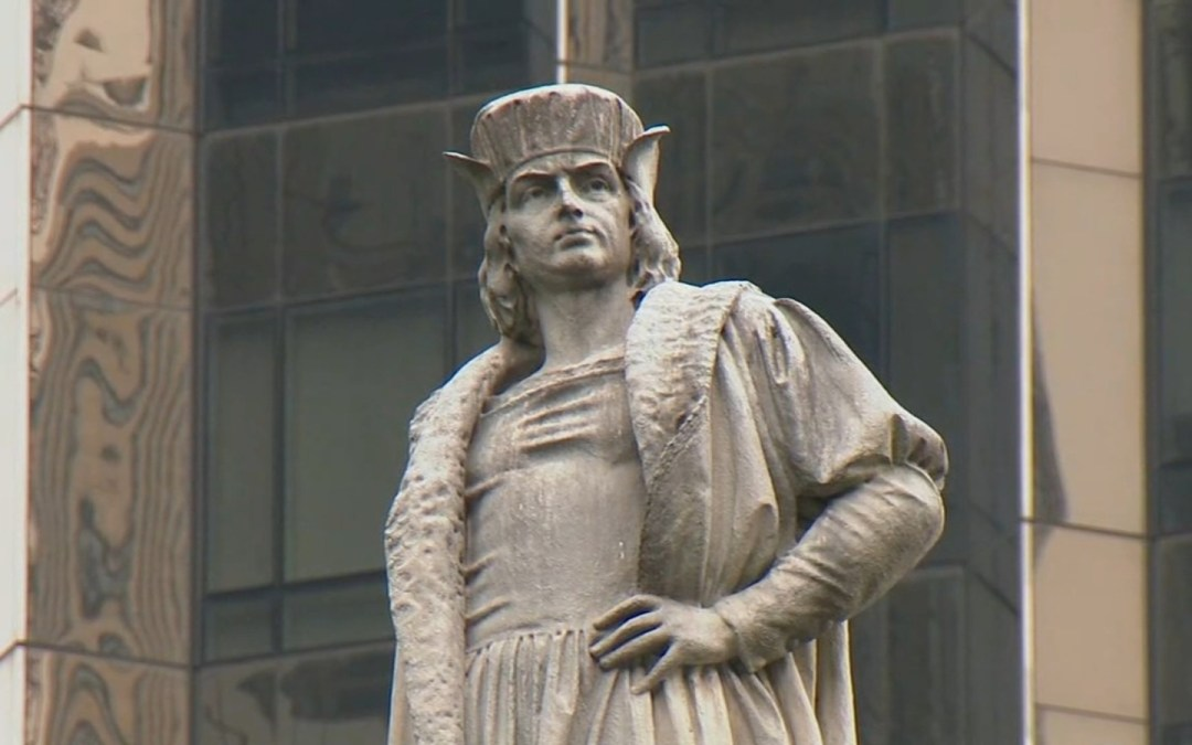 If we do not remove them, someone else will do it for us: Why Italian Americans need to be leaders in removing Columbus monuments