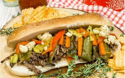Chicago's Italian Style Beef Sandwich