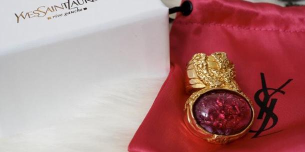YSL Arty Ring S.Valentine