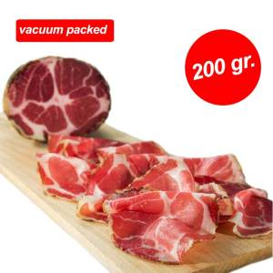 COPPA STAGIONATA SLICED 200 GR VACUUM THAILAND