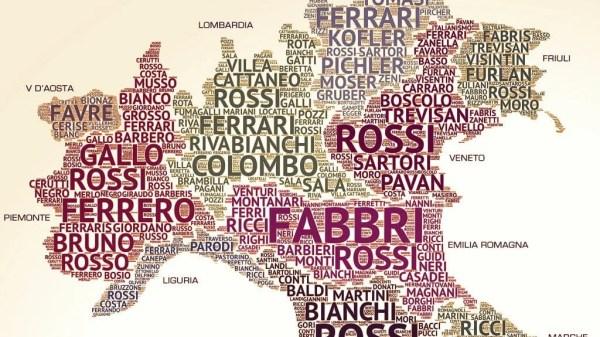 Sobrenome italiano mais comum
