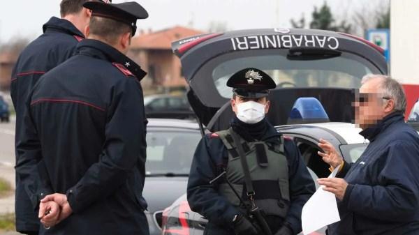 Italiano quebra quarentena e é multado 7 vezes