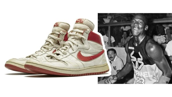 Tênis usado por Michael Jordan na Itália valem 850 mil dólares
