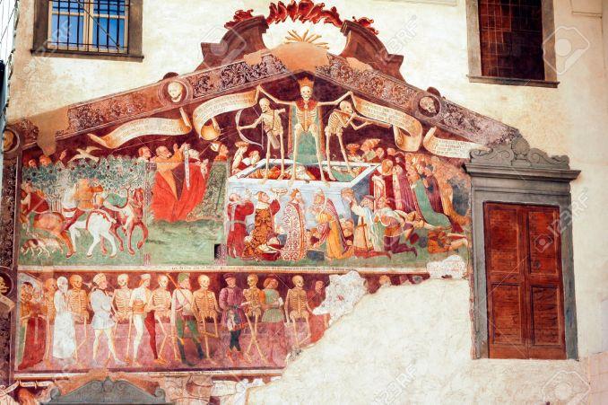 Пляска смерти из Клузоне (Бергамо), Италия