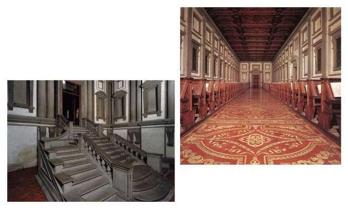 Библиотека Лауренциана. 1524-1559 гг.
