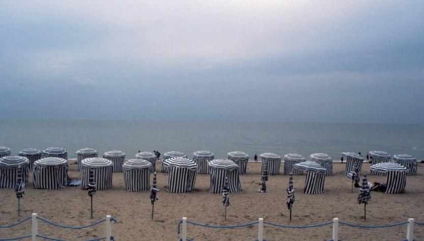 La spiaggia di Balbec, uno dei luoghi della Ricerca di Proust