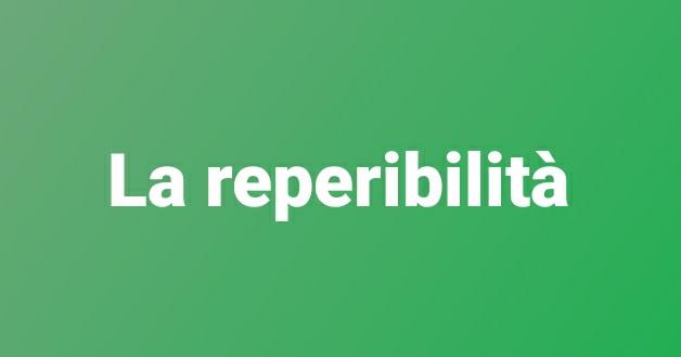 La reperibilità