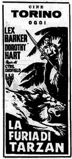La furia di Tarzan (1952)