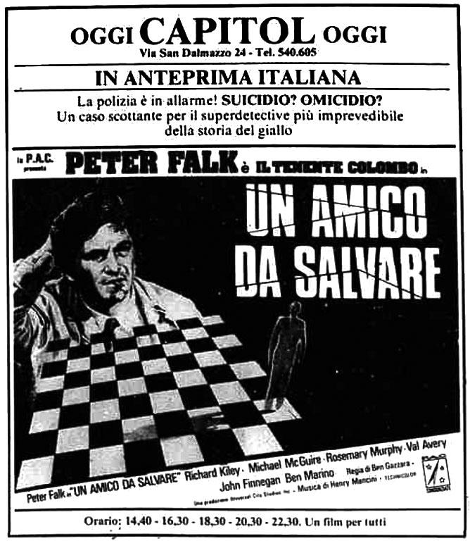 Colombo: un amico da salvare (1974)