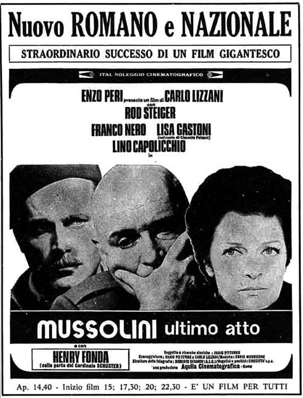 Mussolini ultimo atto (1974)