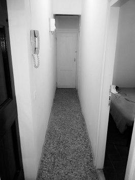 The narrow coridoor