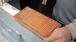 Technique in shaving off tile layer